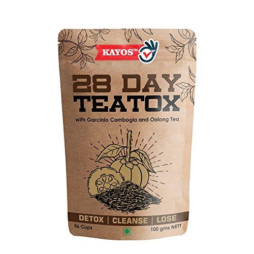 Kayos 28 Day Teatox with Garcinia Cambogia and Oolong Tea, 100 G