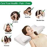 VAlinks Cervical Pillow Contour Memory Foam Pillow