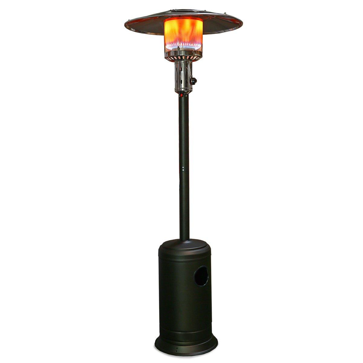 XtremepowerUS 48,000 BTU Premium Floor Standing Propane Outdoor Patio Heater    Mocha: Amazon.ca: Patio, Lawn U0026 Garden