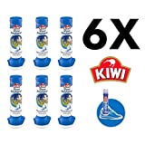 Kiwi Fresh Force Shoe Freshener 2.2 Oz Aerosol Cans, 6 Pack