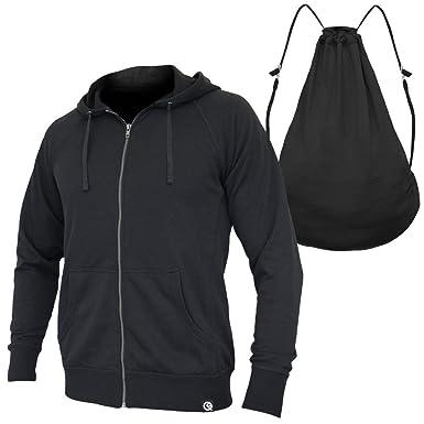 88e1703b8 Quikflip Hero Hoodie (Convertible Full-Zip Hoodie Backpack) Black, XS