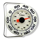 Cooper-Atkins 255-06-1 Bi-Metal Wall/Storage Thermometer, -60/120°F Temperature Range