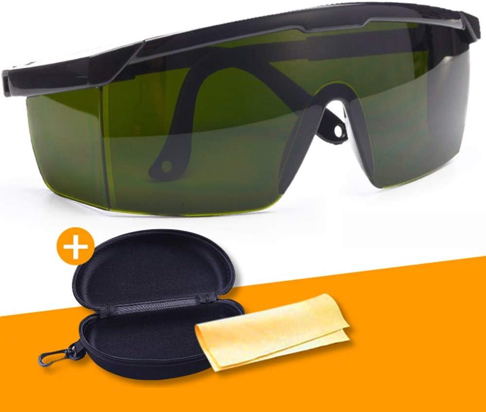 Welding Glasses Anti-Glare Anti-Splash Goggles Argon Arc Welding Glasses Welder Protective Equipment Dark Degree 5.0,A