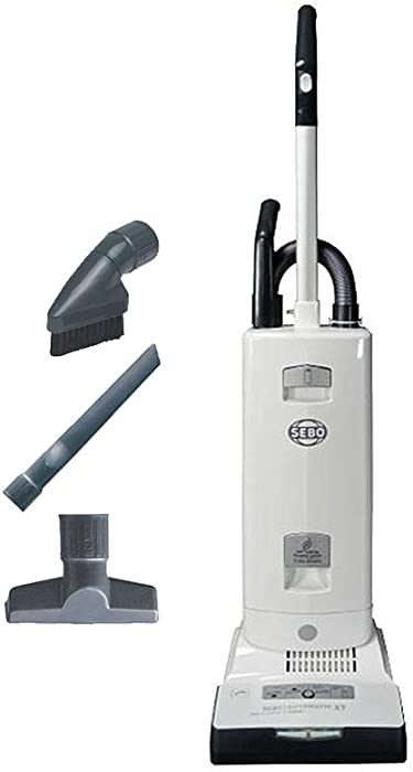 Sebo Automatic X7 Premium Upright Vacuum Cleaner White