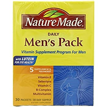 Nature Made Daily Men S Pack Packets  Count