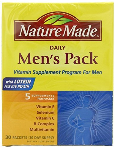 Nature Made Men's Pack Vitamin, 30-Count (Pack of - Pack Vitamin