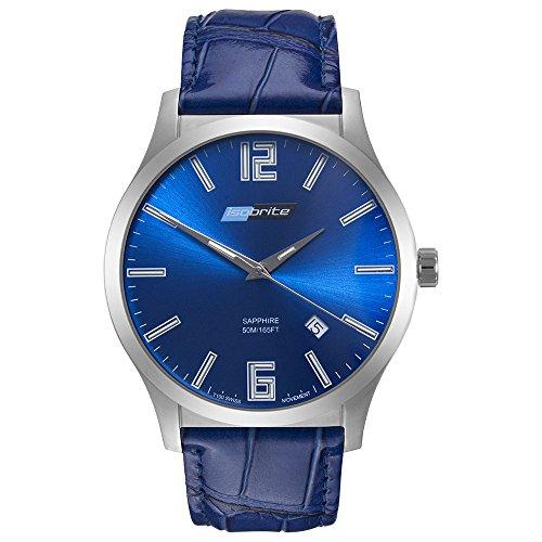 Isobrite ISO903 Grand Slimline Series Blue Dial Tritium Watch