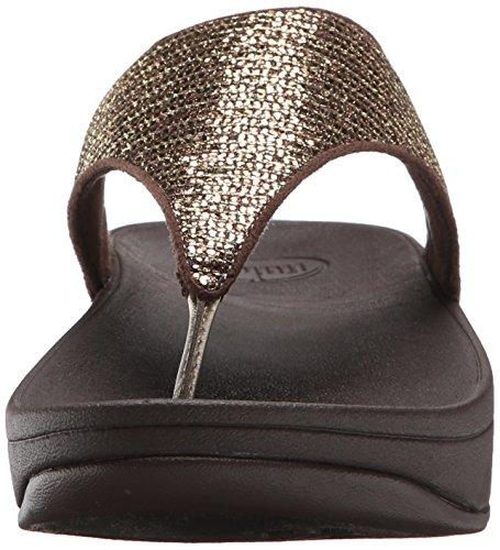 Superglitz Copper Women's Lulu Fitflop Textile Sandal gqAxCE