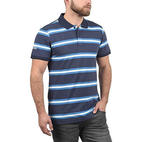 7ff521125b Blend Pique Camiseta Polo De Manga Corta para Hombre con Cuello De Polo De  100%