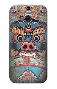 S0572 Tibet Art Case Cover For HTC ONE M8