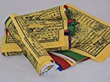 Tibetan Prayer Flags Wind Horse 50 Flags Five Rolls by Hands Of Tibet