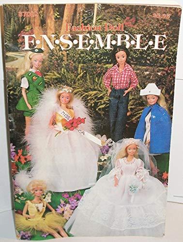 (Annies Pattern Club Fashion Doll ENSEMBLE 1984 )