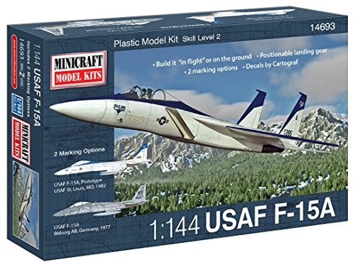 Minicraft F-15A Airplane Model Kit (1/144 Scale)
