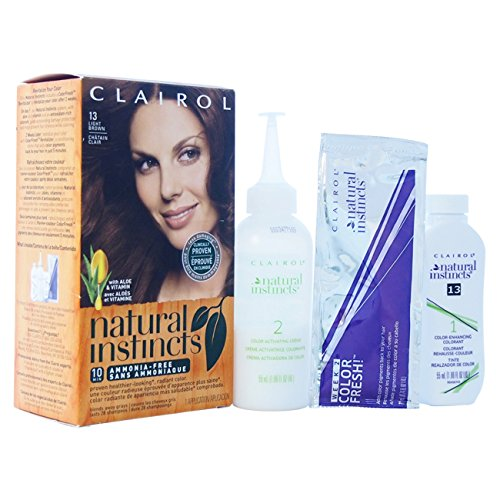 Price comparison product image Clairol Natural Instincts Haircolor, Suede Light Brown 13