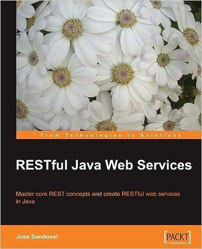 RESTful Java Web Services by Jose Sandoval (2009-12-02)