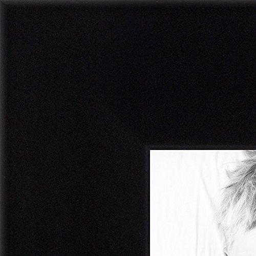ArtToFrames 20x30 inch Satin Black Wood Picture Frame, WOM20020-20x30 ()