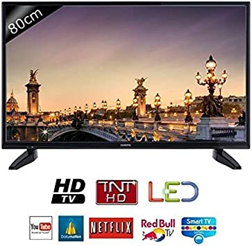 Oceanic TV 32s0316b3 – HD – 80 cm (31,5 Pulgadas) – LED – Smart TV – 2 HDMI – Clase A +: Amazon.es: Electrónica