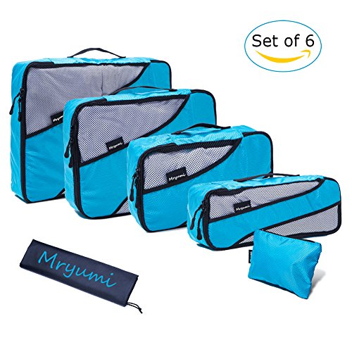 Price comparison product image Mryumi Storage Travel Packing Cubes Organizers Luggage Compression