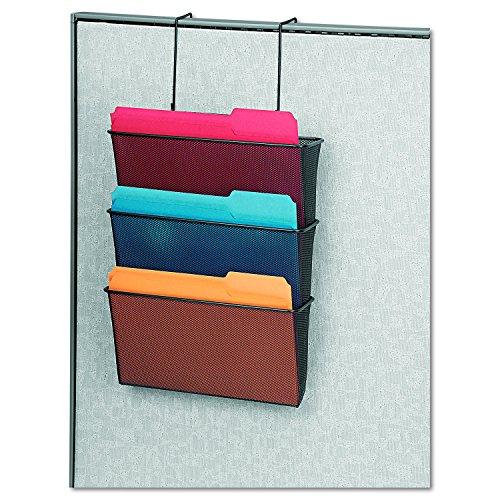 wall mount hanging file folder organizer 3 pocket office storage holder rack new 691161046138 ebay. Black Bedroom Furniture Sets. Home Design Ideas