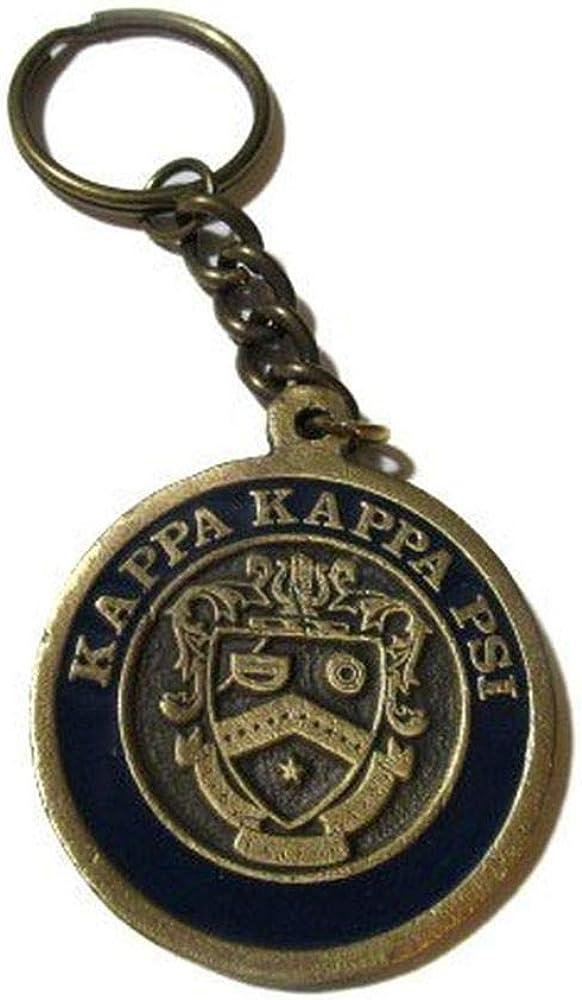 Kappa Kappa Psi Metal Fraternity Key Chain