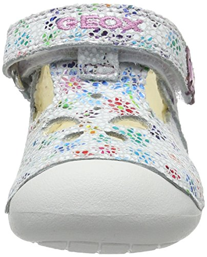 Geox B Tutim B, Mocasines Gatean para Bebés Rosa (White/lt Pinkc0814)