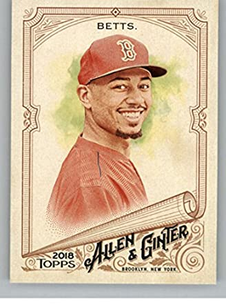 Amazoncom 2018 Topps Allen And Ginter 245 Mookie Betts