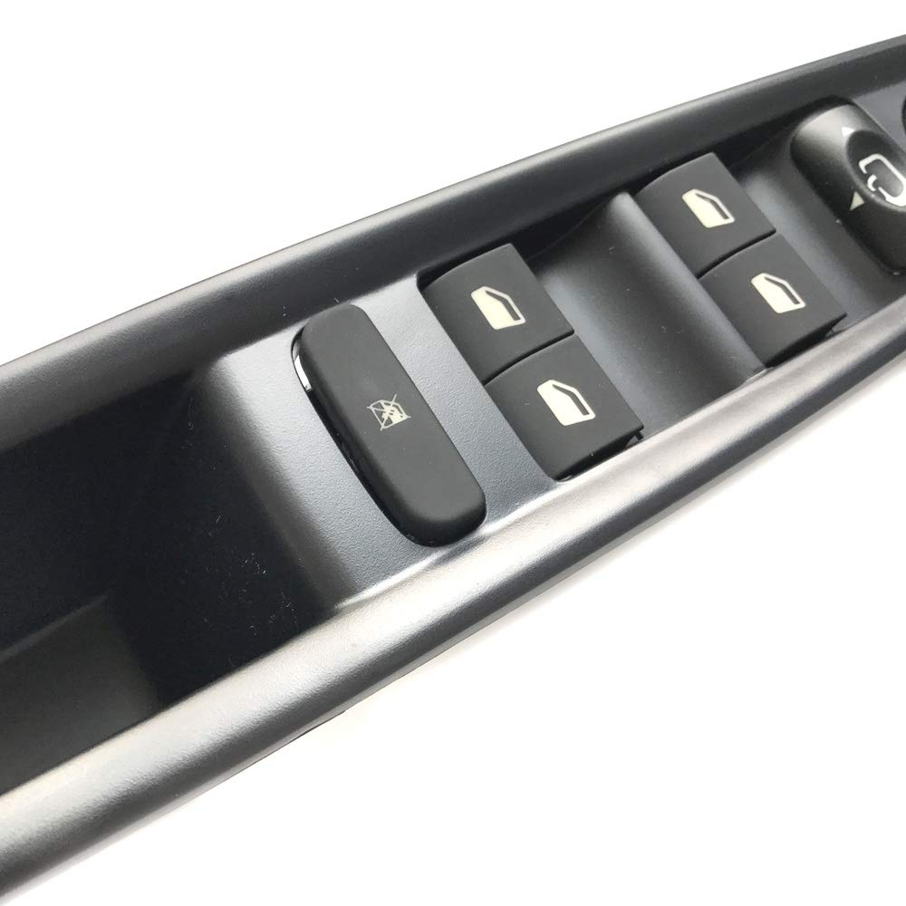 Elektrisch R/ückansicht Spiegel Taste mit Panel Automatik R/ückansicht Meister Fenster Schalter Fahrerseite Fenster Meister Schalter Fit f/ür Citroen C4