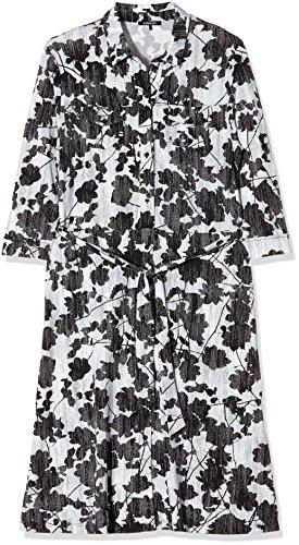 Mehrfarbig Jersey White Olsen Kleid Off Damen qzxna6wH