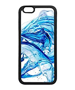 VUTTOO Iphone 6 Case, Abstract Water Splash Slim Case for Apple iPhone 6 4.7 Inch TPU Bumper Black