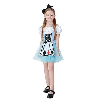Hallowmax Disfraz de Halloween de Princesa Alicia para las Nias el