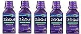 ZzzQuil Nighttime Sleep Aid, Warming Berry Liquid hmllfV, 5Pack (12 Fl Oz)