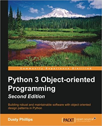 Building robust and maintainable software with object oriented design patterns in Python