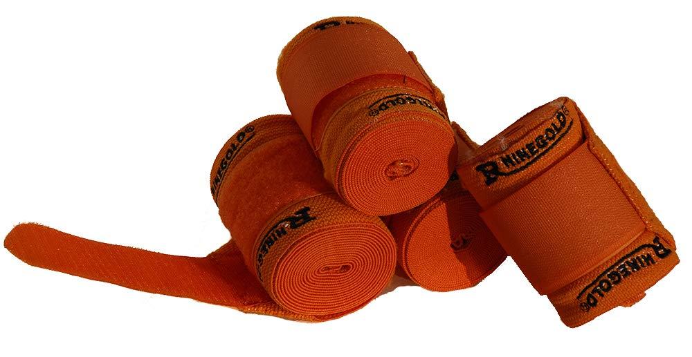 Rhinegold /élastique dentra/înement bandages Lot de 4