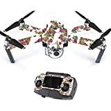 Skin For DJI Mavic – Bouganvilla | MightySkins Protective, Durable, and Unique Vinyl Decal wrap cover | Easy To Apply, Remove, and Change Styles | Made in the USA