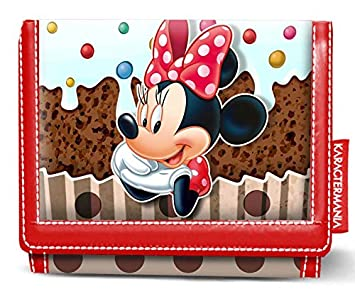 b2b6d9d37664 Karactermania Minnie Mouse Muffin-Wallet Coin Pouch, 12 cm, Brown: Amazon.co .uk: Luggage