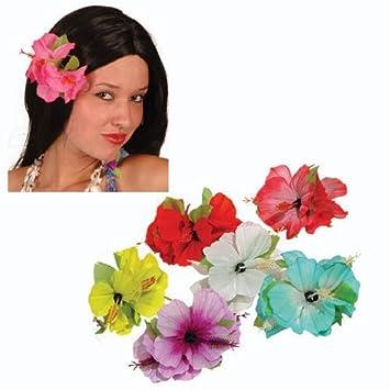 hawaii blume hibiskus mit clip 1 stà ck sortiert spielzeug