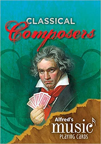 Alfred's Music Playing Cards -- Classical Composers: 12 Pack, Card Deck