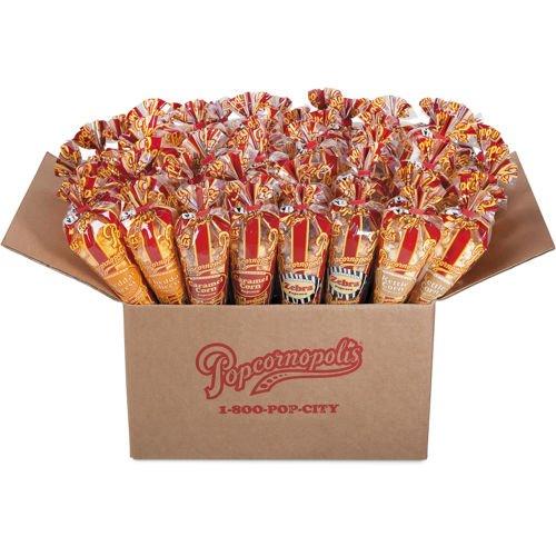 Popcornopolis Mini Cones 48-pack by Popcornopolis (Image #1)