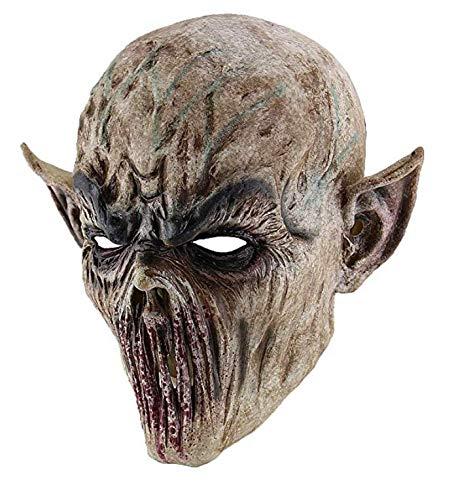 Disfraces De Terror En Halloween (Carty Mascaras De Halloween De Terror Disfraces para Adultos Hombre Mujer La Monja)