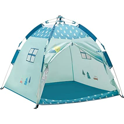Play Tents Childrenu0027s Tent Toy House for Kids Game House for Children Indoor Foldable Princess Castle  sc 1 st  Amazon.com & Amazon.com: Play Tents Childrenu0027s Tent Toy House for Kids Game House ...