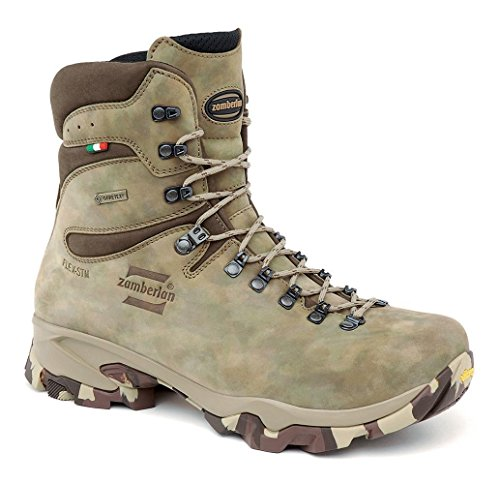 Boots Uninsulated Tactical (Zamberlan 1014 Lynx mid GTX - Hunting Boots - Camouflage - Wide-(zwl) - 11.5)