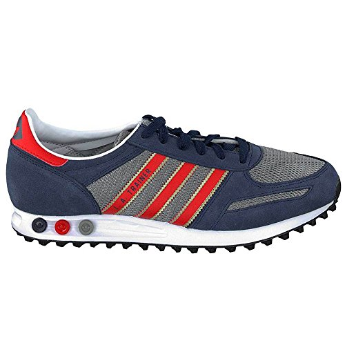 adidas Originals LA Trainer - zapatilla deportiva de cuero hombre Collegiate navy-red-solid grey