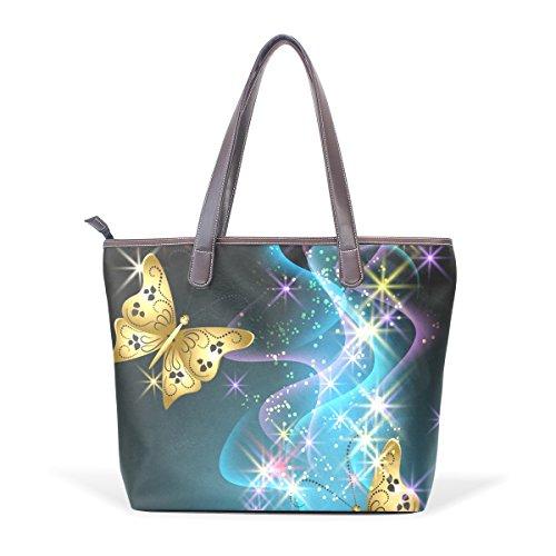 Patern Large Smoke Tote Butterfly Women Top Ladies Handbag Bags Shoulder Handle Bennigiry 50zBqxnB