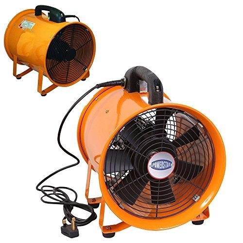 Industrial Extractor Portable Ventilator Air Axial Metal