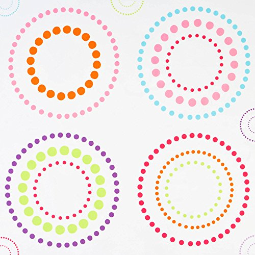 - Your Zone Circle Dot window panel for kid's bedroom/playroom