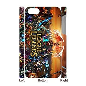 iphone 4,4S 3D Phone Case White League Of Legends F6571368