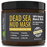 "ASUTRA Organic Dead Sea Mud Mask,""ORIGINAL UNSCENTED"" + FREE Applicator Brush, Combat Acne, Oily Skin & Blackheads, Minimize Pores, For Smooth, Beautiful & Healthy Looking Skin, 16 oz Review"