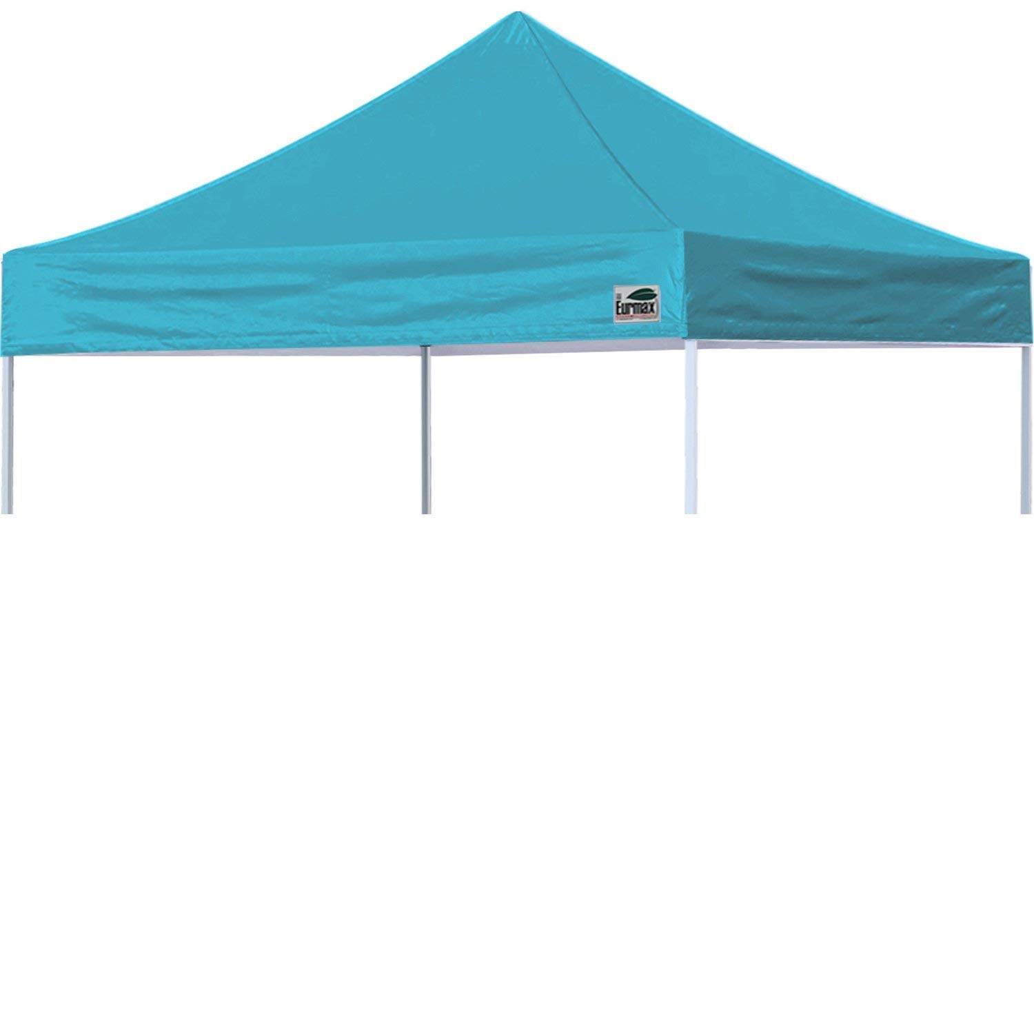Eurmax New Pop up 10x10 Replacement Instant Ez Canopy Top Cover Choose 15 Colors (Turquoise)