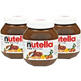 Nutella 能多益 榛果可可酱 180g*3(波兰进口)(亚马逊自营商品, 由供应商配送)