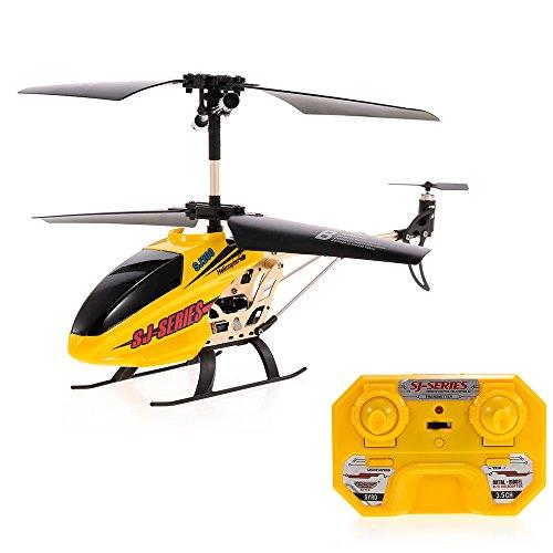 Goolsky SJ R/C SJ200 RCヘリコプター 3.5CH 金属合金 赤外線コントロール ジャイロスコープ付き キッズ おもちゃ 子供 ギフト ラジコンヘリコプター
